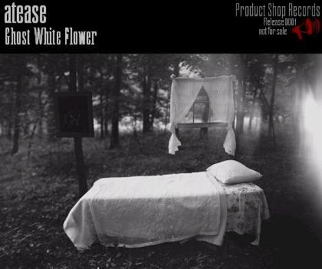 Atease_ghost_white_flowers_album_cover